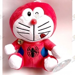 Plush Doraemon Spiderman