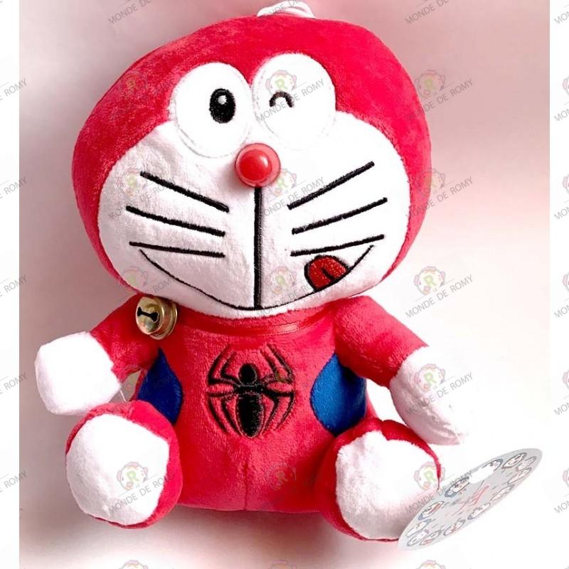 Plush Doraemon Spiderman
