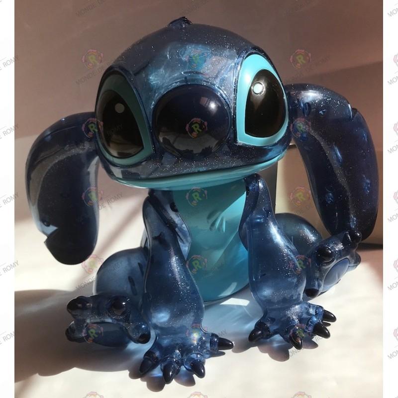 bonbonnière stitch transparente bleue