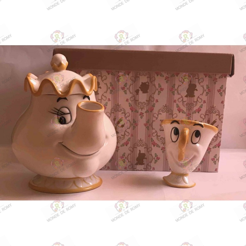 Miss Samovar and  Zip Tea service, be our guest.