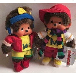 Monchhichi- Sekiguchi- KiKi-Duo Sporty : Edition limited
