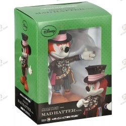 DISNEY MICKEY MOUSE MAD HATTER VERS. MEDICOM TOYS MIRACLE ACTION FIGURE