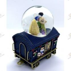 Bradford exchange , Snow White wagon