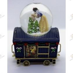Wagon Bradford Exchange- snowglobe Snow White -Disney