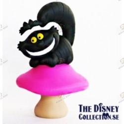 Figurine Mega WCF du cheshire version noir - Alice au pays des merveilles