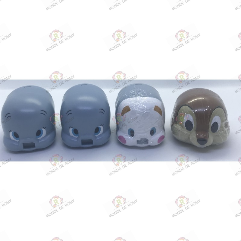 Disney Lot of 4 Dumbo Gashapons