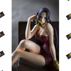 One Piece Creator x Creator Boa Hancock II Action Figure (Red Dress Version)