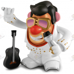 Figurine Mr Patate Elvis Presley Live Edition