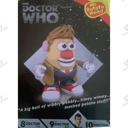 Figurine Mr Patate Dr Who 10th Doctor 2005-2010 boite dos