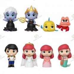 the little mermaid with Mystery Mini figurine 8 pcs-