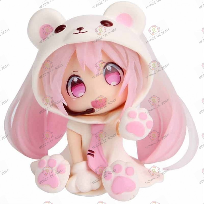 Figurine Vocaloid Nendoroid Hatsune Miku Pink Snow Bear