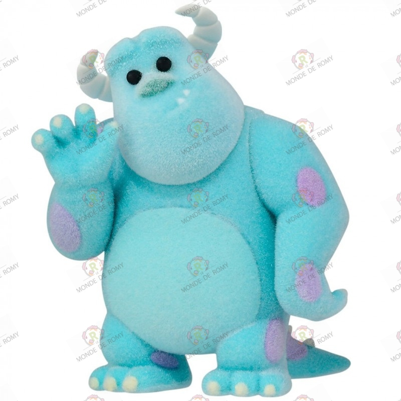 FIGURINE Pixar - Fluffy Puffy Sulley- Exclusive Japan