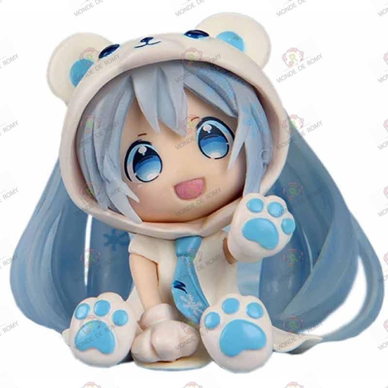 Figurine Vocaloid Nendoroid Hatsune Miku Blue Snow Bear