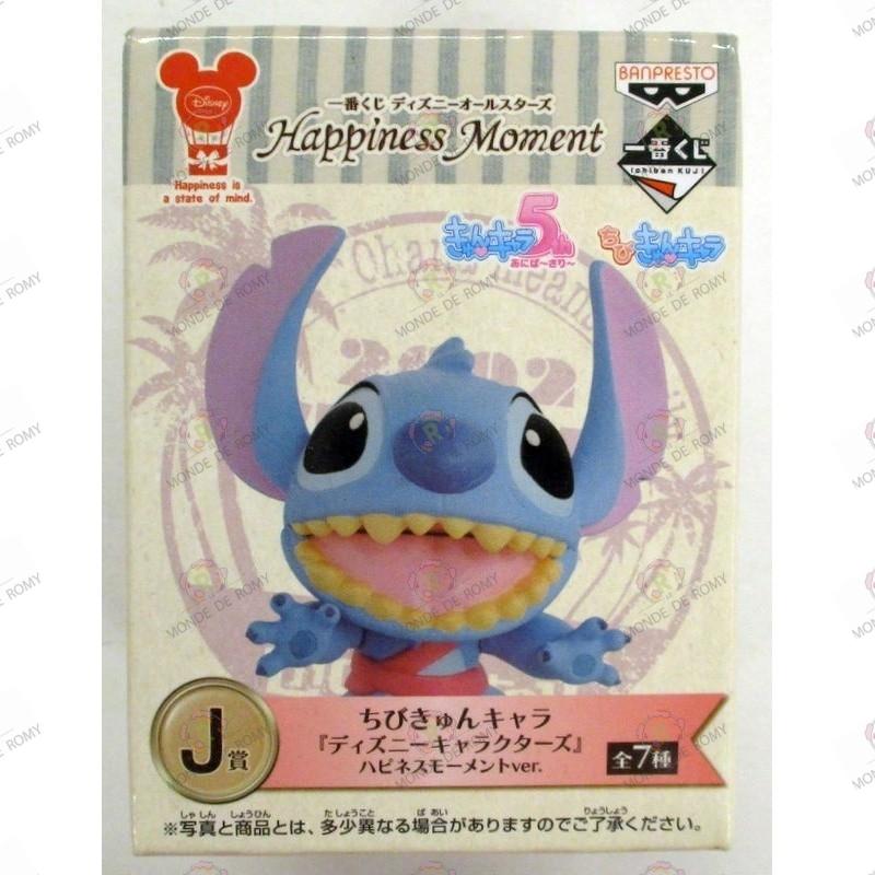 Ichiban Kuji Disney All Stars Moment Happiness J-Prize stitch Chibi Kyun Chara