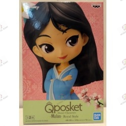 FIGURINE Disney characters QPOSKET Royal Style : Mulan - exclusif JAPON