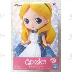 FIGURINE Disney characters QPOSKET Glitter Line : Alice- exclusif JAPON