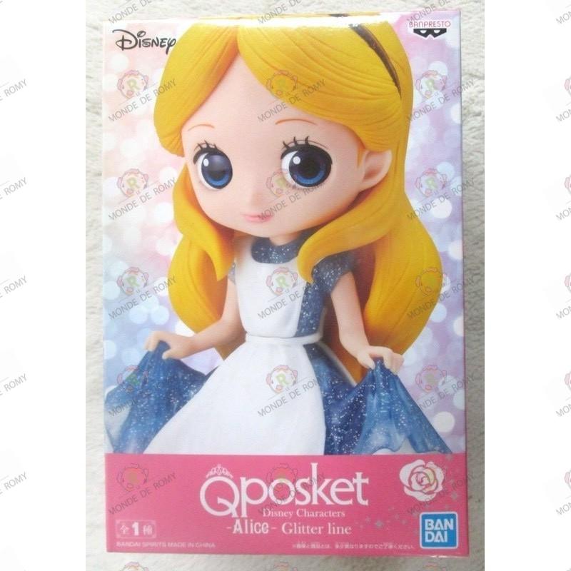 FIGURINE Disney characters QPOSKET Glitter Line : Alice- exclusif JAPON