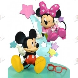 Figurines MICKEY & MINNIE...