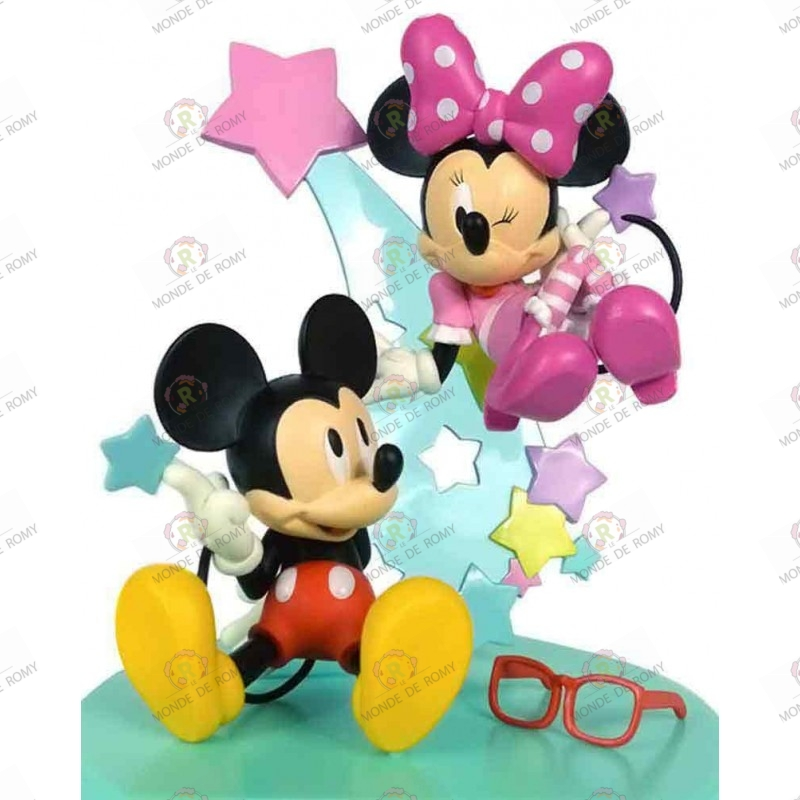 Figurines MICKEY & MINNIE Premium Buddy