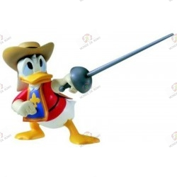 Magical Collection 111 Les Trois mousquetaires Donald Duck close up