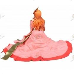 One Piece Figurine PVC Nami Kimono Rose dos