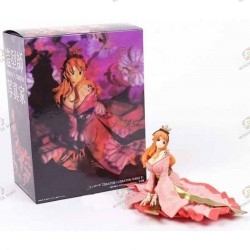 One Piece Figurine PVC Nami Kimono Rose avec boite