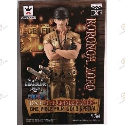 ONE PIECE FIGURINE PVC Roronoa Zoro Gold Japonese Edition
