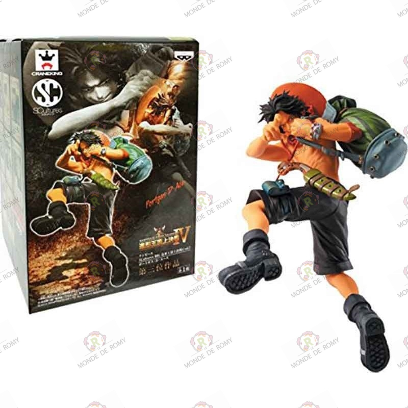 One Piece Banpresto Figure Colosseum IV Portgas D. Ace avec boite