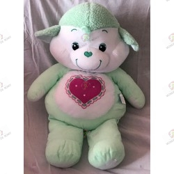 the giant plush -Care Bear Cousinours Gentle Heart Lamb