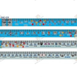 Mètre ruban One Piece Escargophone Den Den Mushi Sengoku Edition Limitée ruban