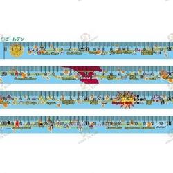 Mètre ruban One Piece Escargophone Den Den Mushi Doré Edition Limitée ruban