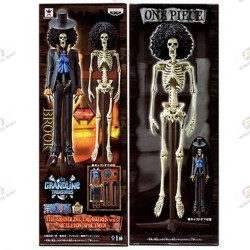 One Piece DXF The Grand Line Treasures Vol. 2 Brook Skeleton Specimen boite o2