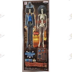 One Piece DXF The Grand Line Treasures Vol. 2 Brook Skeleton Specimen boite  01