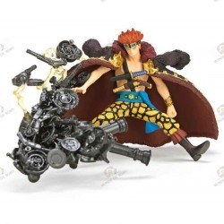"ONE PIECE Eustass ""Captain"" Kid Super Effect Figure vol.2 super nova face"