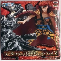 "ONE PIECE Eustass ""Captain"" Kid Super Effect Figure vol.2 super nova boite"