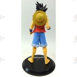Son Goku de Dragon Ball Z en habit de Monkey D Luffy de One Piece dos