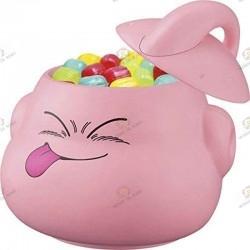 Dragon Ball Z Ichibankuji Super rival Retsuden Prize D Mr Buu, Majin Buu candypot (bonbonnière) filled