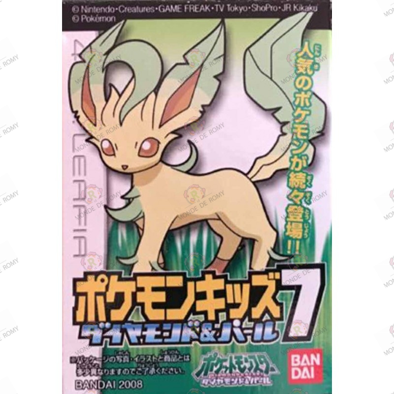 Pokémon Diamond & Pearl 7 Leafia / Leafeon