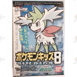 Mini Figurine POKEMON Diamond & Pearl Shaymin Bandai 2008 boite