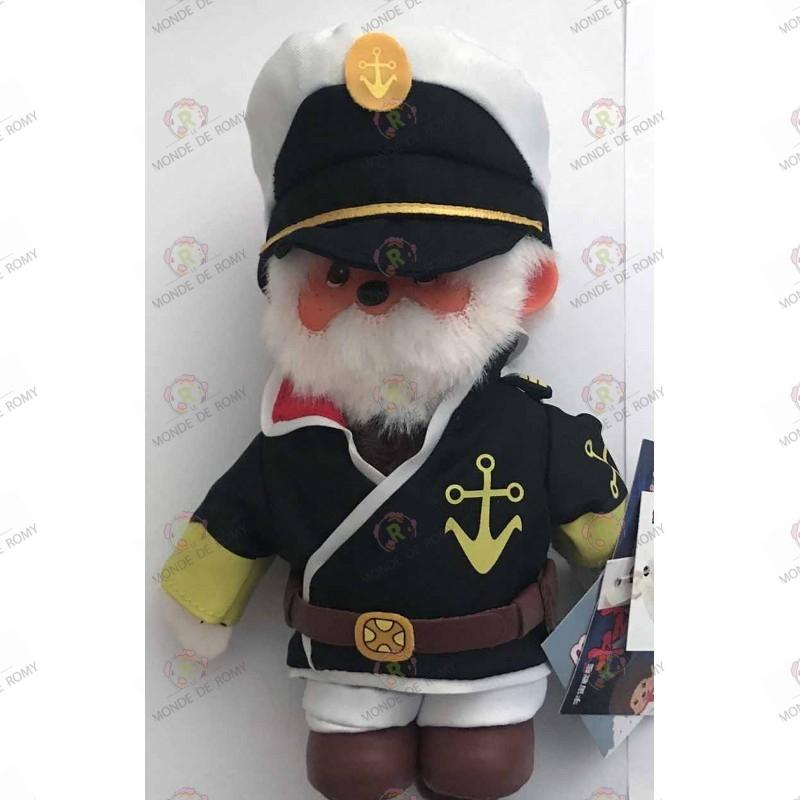 Captain Okita Peluche Kiki Monchhichi
