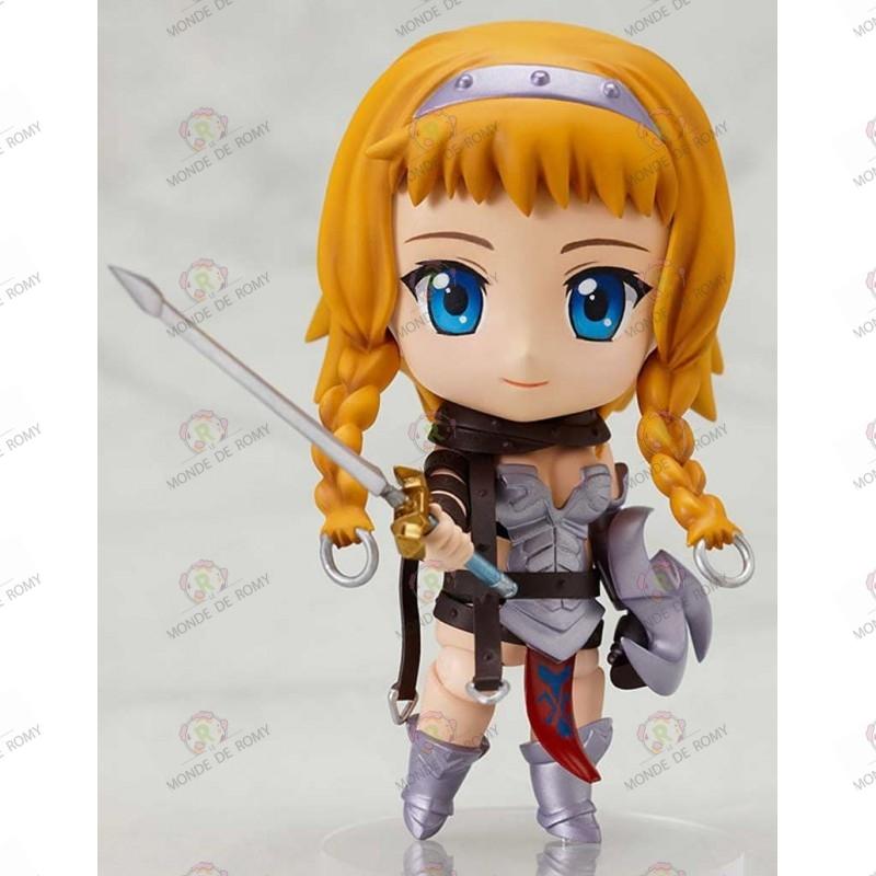 Figurine Queen's Blade Nendoroid Leina face 2