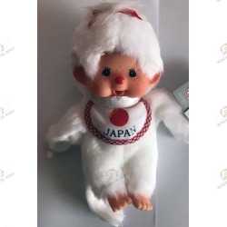 Monchhichi Kiki White girl with bib