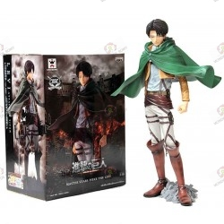 Shingeki no Kyojin Attack On Titan Figurine PVC Levi Ackerman Japanese Edition