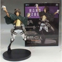 Shingeki no Kyojin Attack On Titan Figurine PVC Hans Hange Zoë Japanese Edition