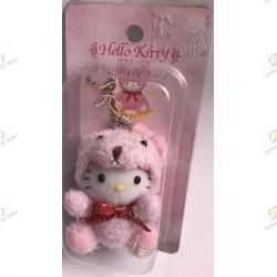 Strap Porte clefs Hello Kitty Teddy kitty mascot boite 2