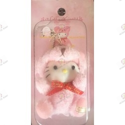 Strap Hello Kitty Teddy  Kitty  mascot In plush