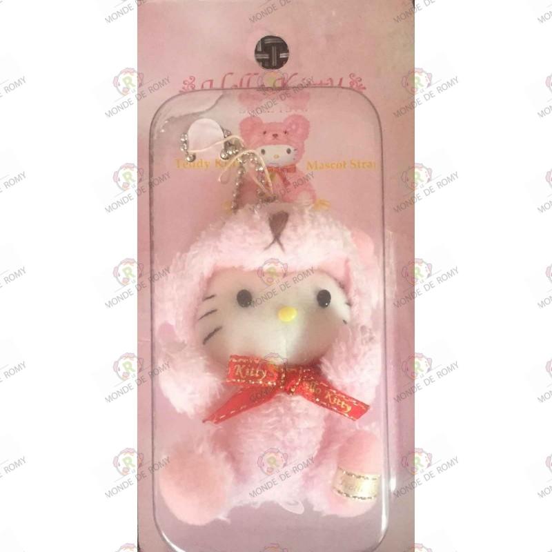 Strap Porte clefs Hello Kitty Teddy kitty mascot boite