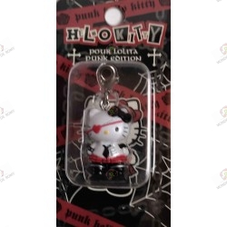 Strap Porte clefs Hello Kitty Pour Lolita punk edition by Novala Takemoto limited mascot-2005 boite
