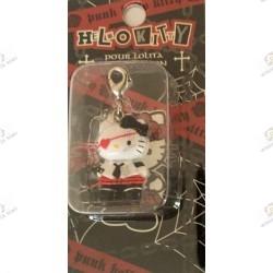 Strap Porte clefs Hello Kitty Pour Lolita punk edition by Novala Takemoto limited mascot-2005  boite 2