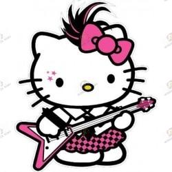 Strap Porte clefs Hello Kitty Pour Lolita punk